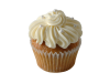 Fancy Carrot Cupcake